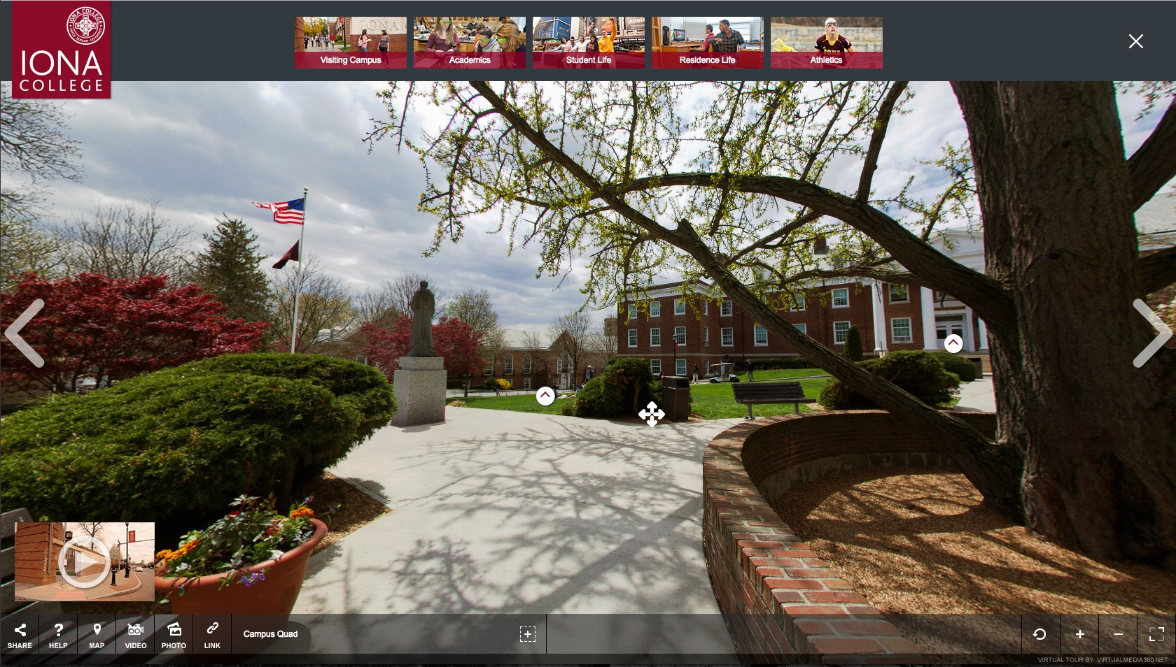 Iona College Virtual tour