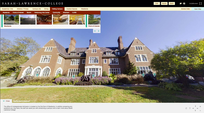 Sarah Lawrence College 360 Virtual Tour