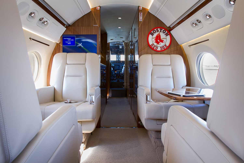 Plane Cabin. Seats